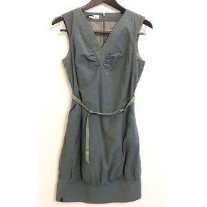 SKFK Skunkfunk lezama army green sleeveless dress